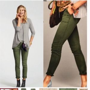 Cabi 5315 The Quest Olive Green Pants size 4